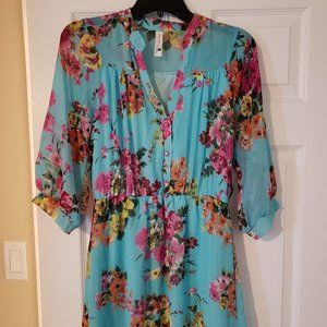 Women's Floral Tunic Dress